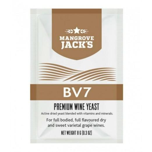 Дрожжи винные Mangrove Jack- BV7 Vinters Harvest 8г