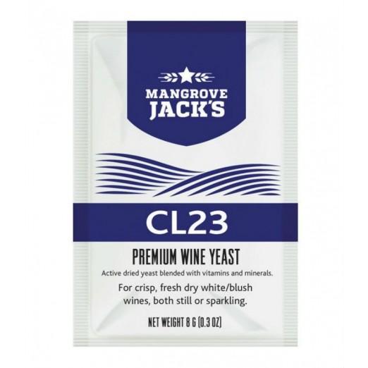 Дрожжи винные Mangrove Jack- CL 23 Vinters Harvest 8г