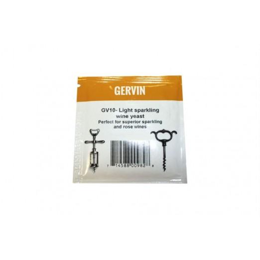 Дрожжи винные Gervin GV10 Light Spark Wine 5г