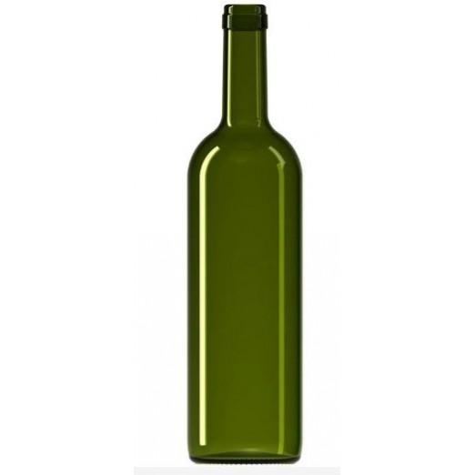 "Бутылка винная 0,75л ""оливковая"""