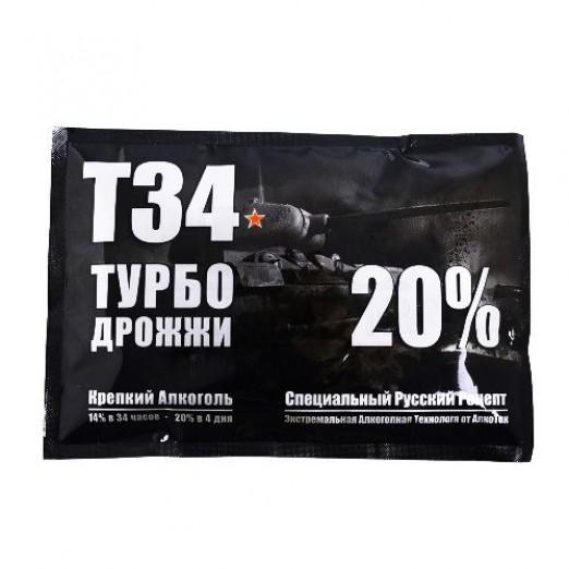Турбо дрожжи Alcotec T34 155гр
