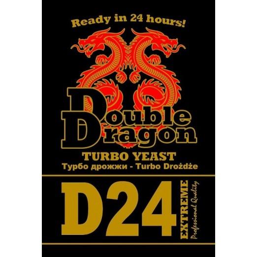 Турбо дрожжи Double Dragon 24