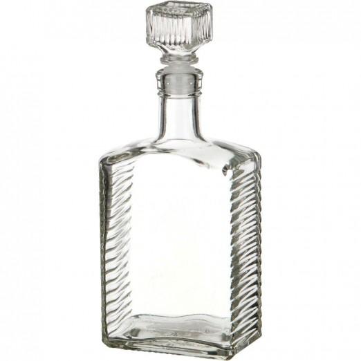 """Бутылка """"Ступени"""" 0,5л без пробки"""