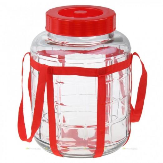 Бутыль стеклянный 18 л