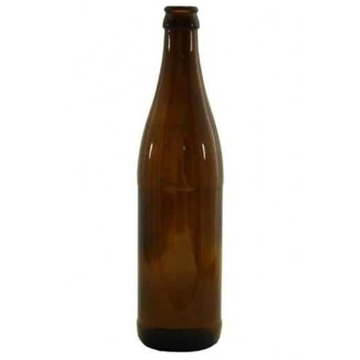 Бутылка пивная коричневая 0,5л