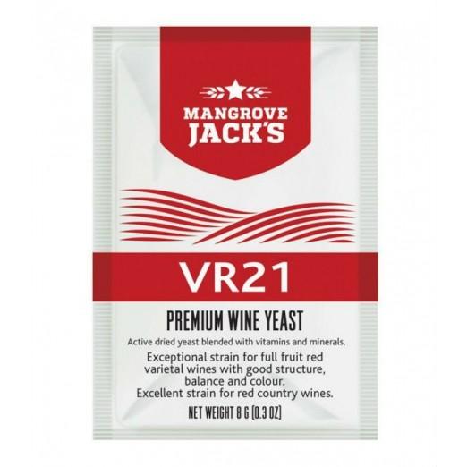 Дрожжи винные Mangrove Jack- VR21 Vinters Harvest 8г