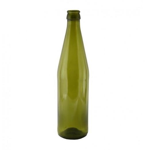 Бутылка пивная зеленая 0,5л